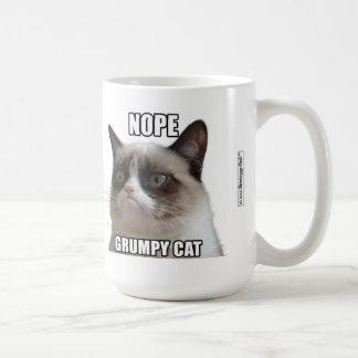 Taza gruñona del gato - NOPE CAT GRUÑÓN