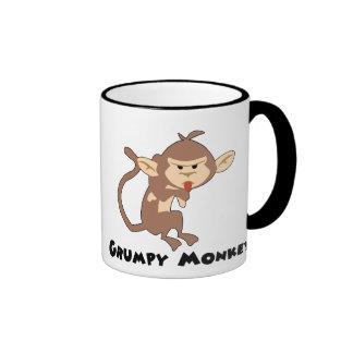 Taza gruñona del mono