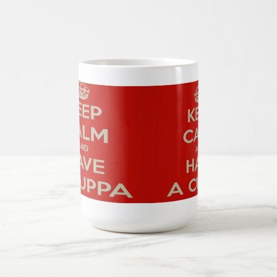 Taza - guarde la calma y tenga un Cuppa