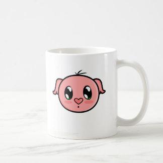 Taza guarra rosada linda de Lil