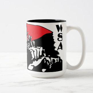taza hecha frente del viaje del wsa 2