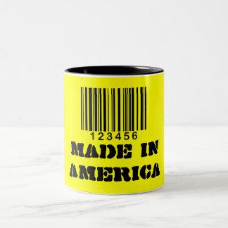 Taza/hecho en América Taza De Dos Tonos
