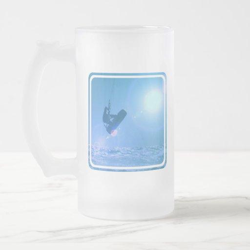 Taza helada aire de Kitesurfing