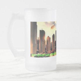 taza helada amante de la ciudad