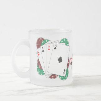 Taza helada as del póker