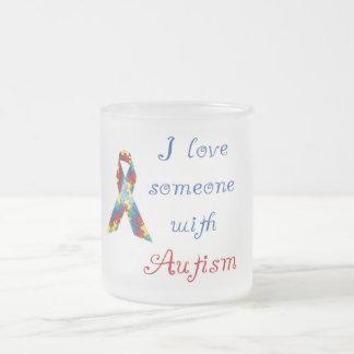 Taza helada autismo