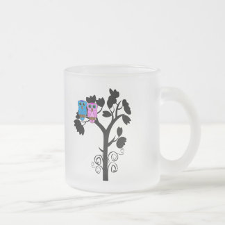 Taza helada búho - pájaros del amor - regalos para