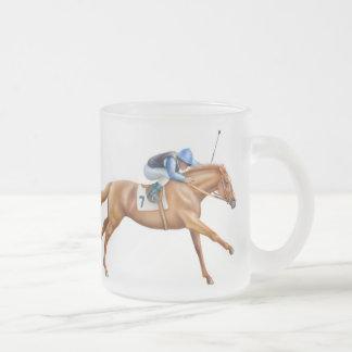 Taza helada caballo de carreras excelente