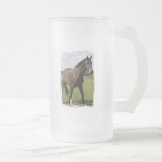 Taza helada caballo excelente