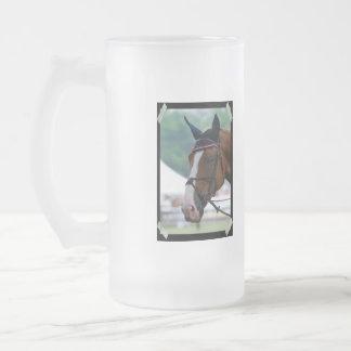 Taza helada caballo grande de Warmblood