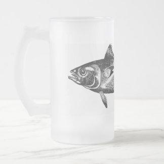 Taza helada del atún