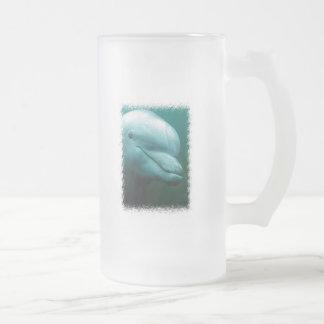 Taza helada del delfín de Bottlenose