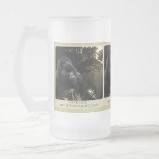 Taza helada del gorila de montaña de Kunga