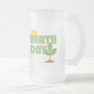 Taza helada Día de la Tierra