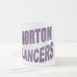 Taza helada fútbol de los lanceros de Norton