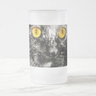 Taza helada gato del mono