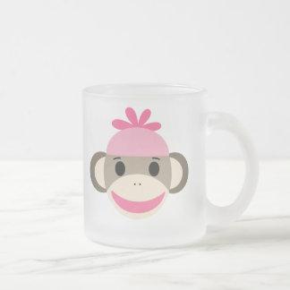 Taza helada niños personalizada del mono del calce
