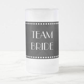 Taza helada novia del equipo