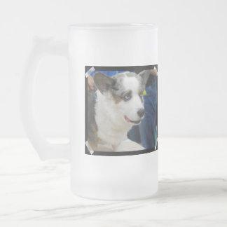Taza helada perro del Corgi Galés de la rebeca
