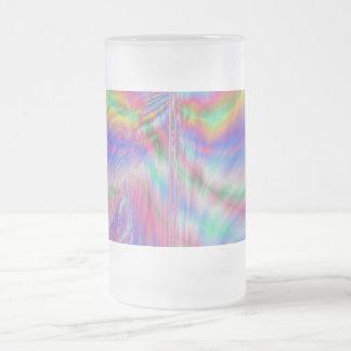 Taza helada pintura mezclada