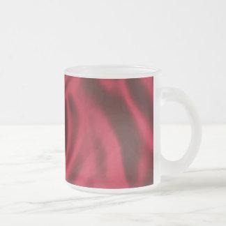 Taza helada terciopelo rojo