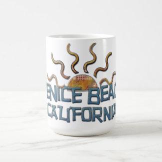 ¡Taza hermosa de la playa de Venecia! Taza De Café