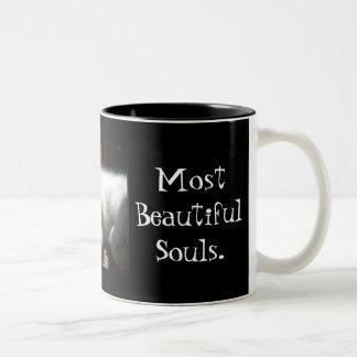 Taza hermosa del alma