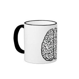 Taza hermosa del cerebro