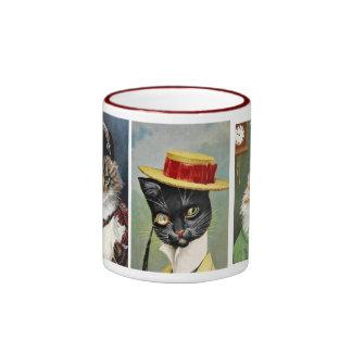 Taza hermosa del regalo de los gatos de Tom del vi