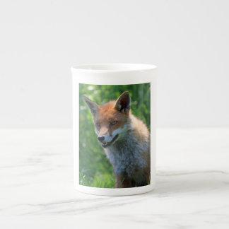 Taza hermosa roja de la porcelana de hueso de la f taza de porcelana