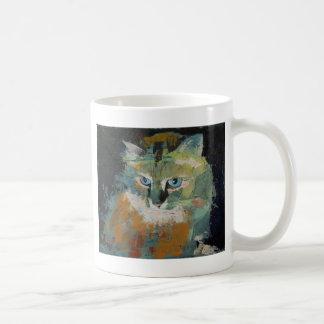 Taza Himalayan del gato