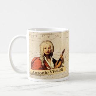 Taza histórica de Antonio Vivaldi