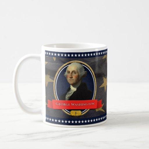 Taza histórica de George Washington