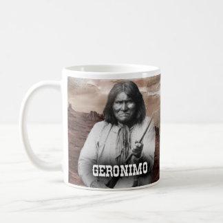 Taza histórica de Geronimo