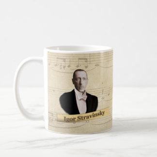 Taza histórica de Igor Stravinsky