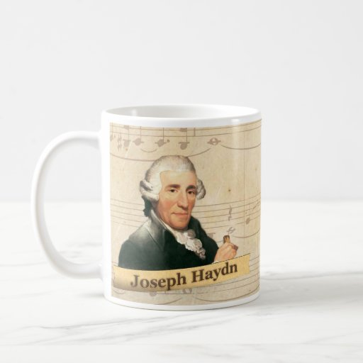 Taza histórica de Joseph Haydn