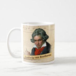 Taza histórica de Ludwig van Beethoven