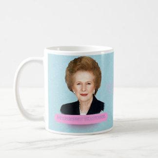 Taza histórica de Margaret Thatcher