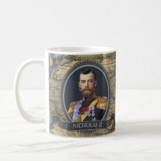 Taza histórica de Nicolás II