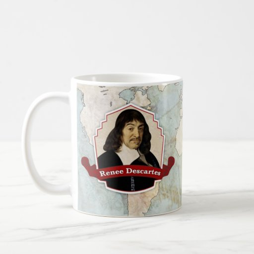 Taza histórica de Renee Descartes