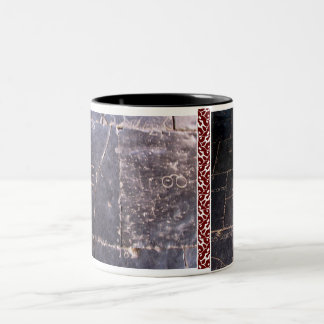 taza holandesa 2 de la piedra del libro mayor de m