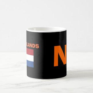 Taza holandesa del código de país de NL
