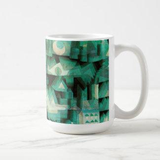 Taza ideal de la ciudad de Paul Klee
