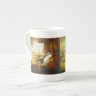 Taza ideal - taza de la porcelana de hueso taza de porcelana