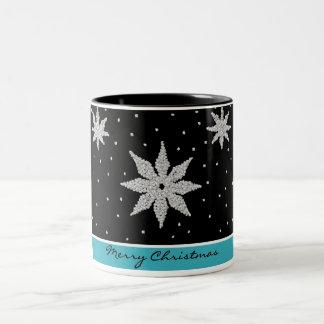 Taza II del copo de nieve del deslumbramiento