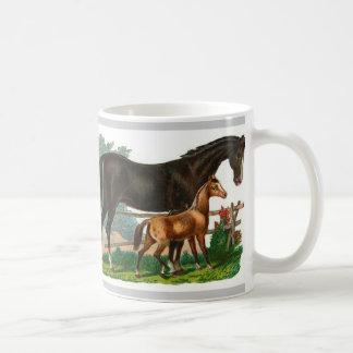 Taza ilustrada caballo