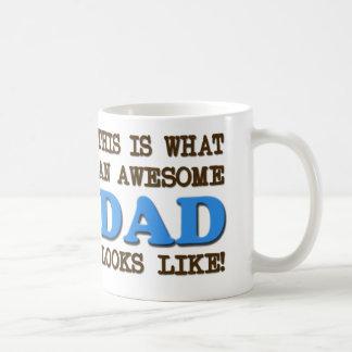 Taza impresionante del papá