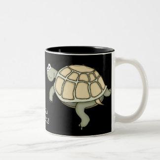 ¡Taza IMPRESIONANTE del regalo de la tortuga de TU Taza Dos Tonos