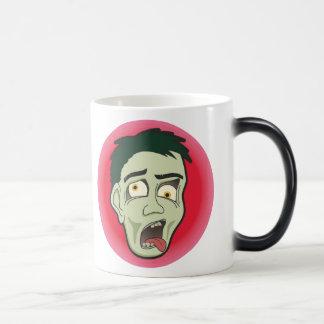 Taza impresionante del zombi