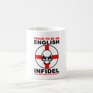 Taza infiel inglesa orgullosa